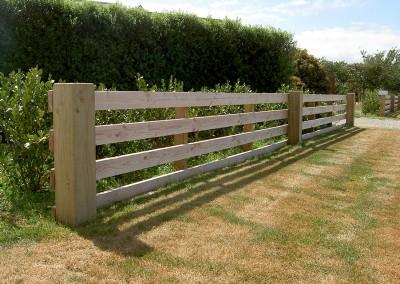 Lifestyle block fencing, Selwyn