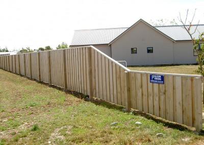 Subdivision fencing, Rolleston, Selwyn