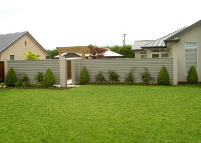 Residential fencing, Christchurch