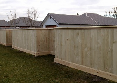 Residential pailing fencing, Christchurch and Selwyn, Canterbury