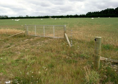 Rural fencing, Christchurch and Selwyn, Canterbury