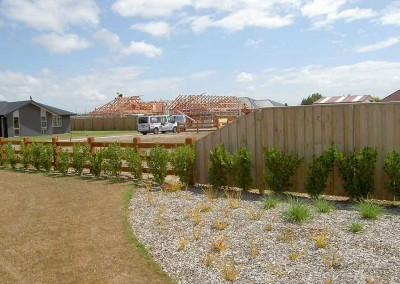 Subdivision fencing Rolleston, Canterbury